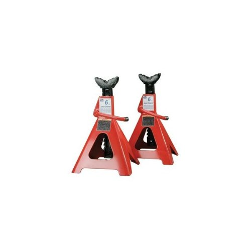 ATD Tools ATD-7446 6 Ton Heavy Duty Jack Stands Ratchet Style