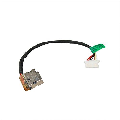 Gintai DC Power Jack CBL00672-0100 - Adaptador de corriente con cable para HP 240 250 255 G4 G5