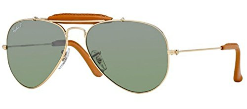 Ray-Ban Sonnenbrillen OUTDOORSMAN CRAFT RB 3422Q 001/M9 58 Neu Original Herren