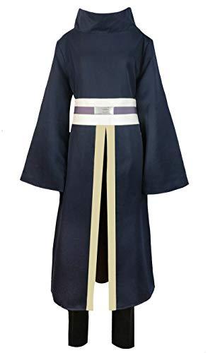 CLLMKL`COS Adult Men Cosplay Halloween Dark Blue Uniform Costume(X-Large)