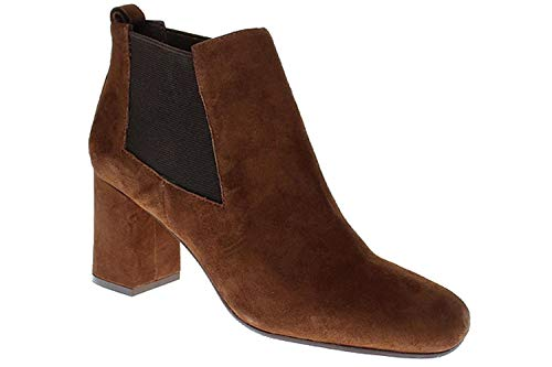 Bruno Premi Jacky REVO - Damen Schuhe Stiefelette Chelsea Boots J3004X Castagna, Größe:35 EU