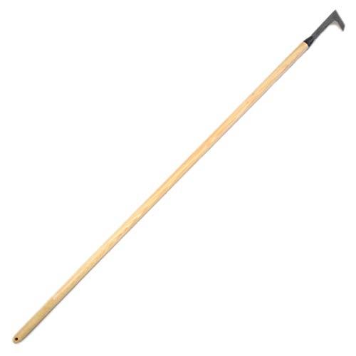 4betterdays.com NATURlich leben! Fugenmesser/Unkrautmesser mit Eschenholzstiel - Stiellänge: 140 cm, Gewicht: 380 gr - Handgeschmiedet in Deutschland