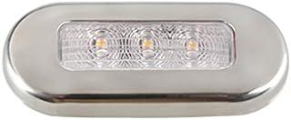 浅绿色信号 LED 椭圆形灯白色不锈钢外壳 LED 椭圆形灯,