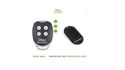 Handsender Ditec ZEN4 kompatibel mit GOL4
