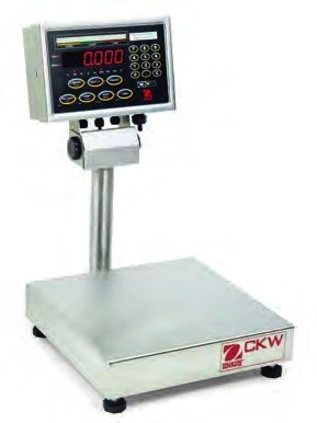 Ohaus CKW3R55 CKW Washdown Checkweighing Scale, Capacity 3kg (6lb), Readability 0.5g (0.001lb)
