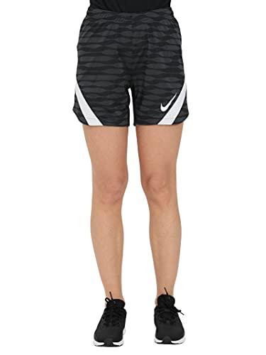 NIKE Women's Strike 21 Short Pantalones Cortos, Negro/Antracita/Blanco/Blanco, L para Mujer