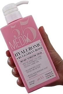 Medix 5.5 Hyaluronic Acid Cream w/Bulgarian Rose For Face & Body. Intense Hydrating Cream For Wrinkles & Fine Lines. Anti-Ageing Cream w/Goji Berry, Green Tea, Vitamin E. 444mL (15 Oz)