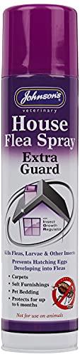 Johnson's Vet Domestico' extra Guardia' Antipulci & Insetto Spray con Igr 400ml