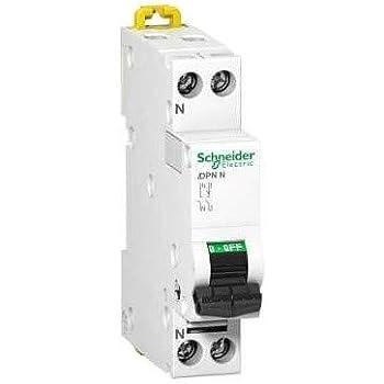 disjoncteur phase courbe c a9n21021 schneider prodis dt40-3 amp/ères neutre