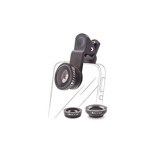 3in1 SL-110 Makro Wide Angle Fisheye Objektiv Linse für Smartphones & Tablet
