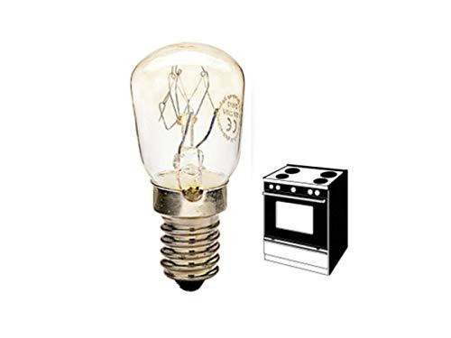 LAMPADA PER FORNO PICCOLA PERA PERETTA E14 15W 300° 100 lumen