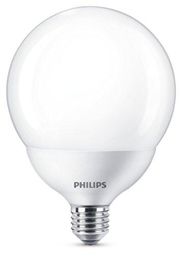 Philips LED bombilla forma globo, consumo de 18W equivalente a 120 W d