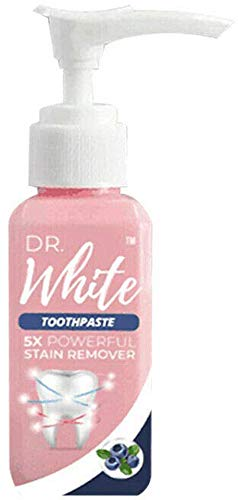 50ml Dr. White Stain Removal Zahnpasta Zahnaufhellung Orale Zahnflecken, natürliche Zahnpasta sofort aufhellen, Zahnschmutz reduzieren, Mund reinigen, Zahnfleischbluten bekämpfen (2 Stück)