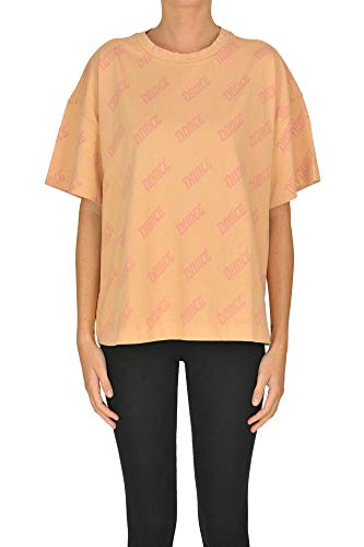 ACNE STUDIOS Dance Print t-Shirt Woman Peach S int.