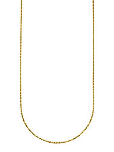 KLiNGEL Damen 925 Silber Kette in Gelbgoldfarbenmit in und in und in