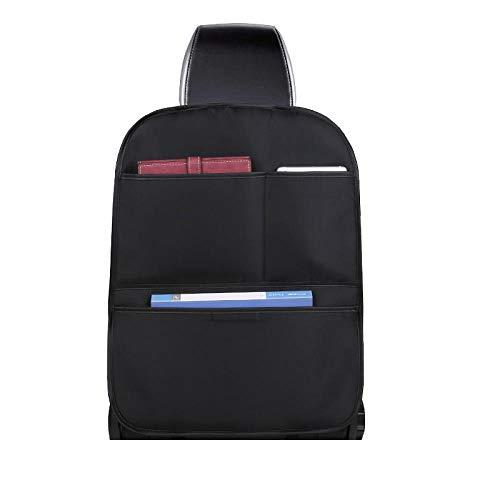 Sac de rangement pour le dos du siège de voiture sac suspendu sac de rangement pour voiture coussin de protection arrière multifonctionnel arrière