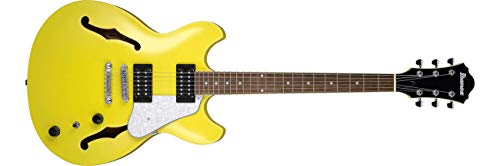 Ibanez AS63 Lemon Yellow Chitarra Semiacustica Hollow Body