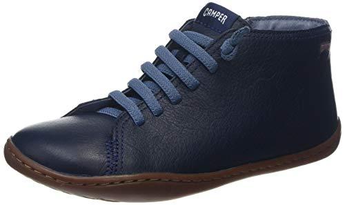 CAMPER Jungen Peu Hohe Sneaker, Blau (Navy 410), 32 EU