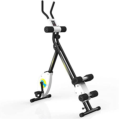 Equipo Gimnasio en casa [Promoción 2021] Bicicleta de Ciclismo para Interiores, Bicicleta estática, Bicicleta de Ejercicios reclinada, Bicicleta de Ejercicios Vertical magnética/Sensor de Pulso/mo