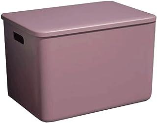 Lpiotyucwh Paniers et Boîtes De Rangement, Boîte de rangement polyvalent de 1 pcs avec couvercle fixé, pour jouets, articl...