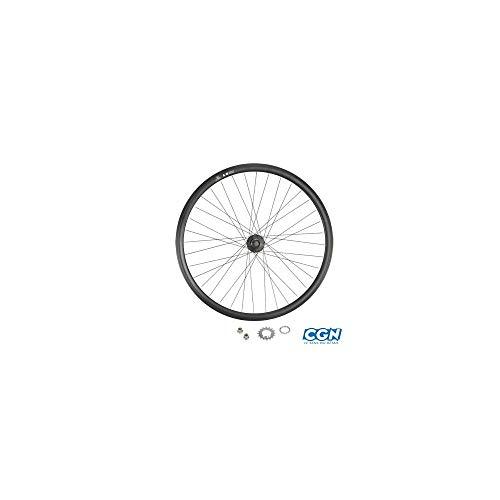 Horquilla bicicleta pista fixie FK 700C Acero Rosca 1/'/' 130mm FK-2016 Negro