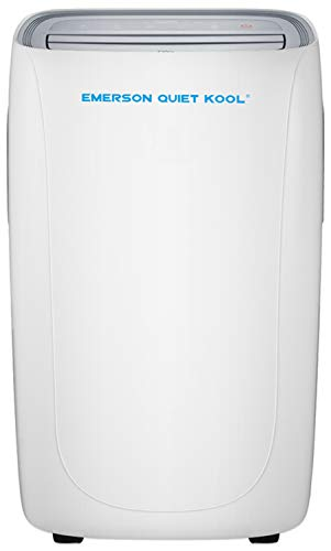 Emerson Quiet Kool Emerson Smart Portable Air Conditioner with Remote Wi-Fi and Voice Control for Rooms up to 350-Sq. Ft, 10000 BTU with WiFi, White