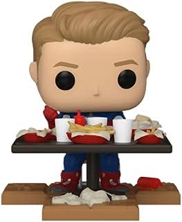 Funko Pop! Deluxe, Marvel: Avengers Victory Shawarma Series - Captain America, Amazon Exclusive, Figure 4 of 6