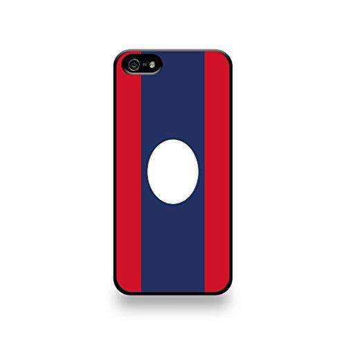 LD Case COQIP5_98 beschermhoes voor iPhone 5/5S, motief Laos vlag