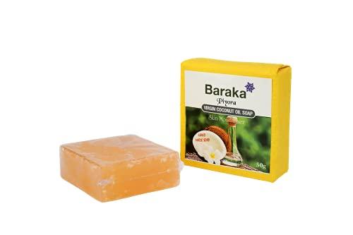El jabón de coco más puro DEL MUNDO hecho a mano a partir de aceite de coco 100% orgánico con aceite de comino negro. EL PRODUCTO MÁS CERTIFICADO EN LA GAMA DE JABÓN DE COCO, también HALAL