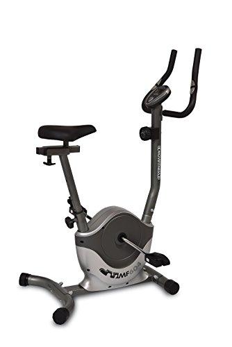 Movi Fitness MF604, hometrainer magnetisch unisex – volwassenen, grijs/zilver, 83 x 43 x 117 cm