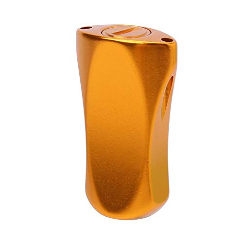 Diferente Perilla de energía For el Carrete Spinning - Full Metal Pesca Spinning Carrete de Repuesto asa de la Fuente Perilla de Agarre For Shimano/Daiwa Útil (Color : Gold)