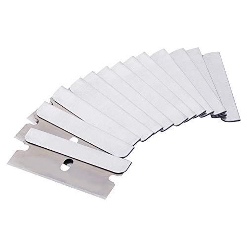LOCONHA Single Edge Razor Blade, 100pack, Razor Blades Single Edge, Single Sided Razor Blade, Razor Blades Scraper, Razor Blades Single Edge, Scraper Blades, Flat Razor Blade, One Edge Razor Blade
