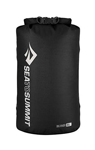 Sea to Summit Big River Dry Bag, Black, 13 Liter