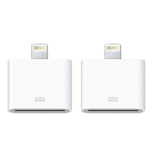 30 pin Charge & Sync Cable Adapter Converter for Apple iPhone 6/6 Plus/5s/5c/5/4s/4/3/3G,iPad and iPod (White)