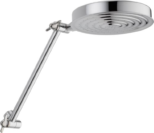 Delta Faucet Single-Spray Shower Head, Chrome 52687-PK