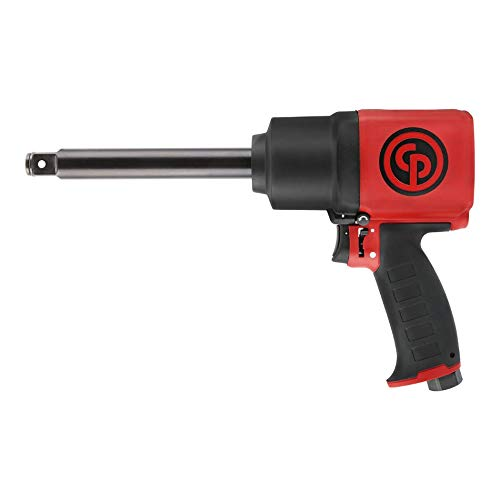 Chicago Pneumatic Tool CP7769-6 Heavy Duty 3/4-Inch Impact Wrench with 6-Inch Extended Anvil and Composite Housing by Chicago Pneumatics