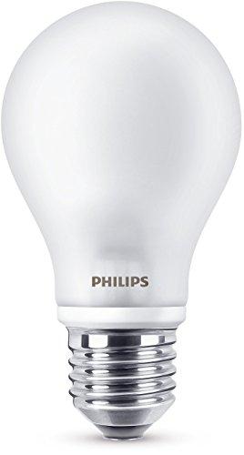 Philips LED Bombilla reemplaza a 40W, E27, blanco cálido (2700K), 470 lúmenes, regulable