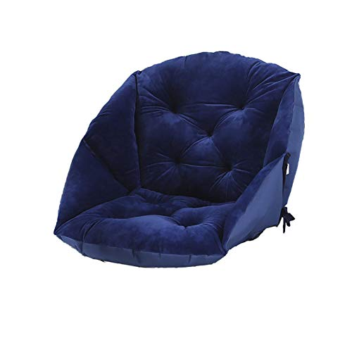 XER Plush Seat Cushion Wheelchair Cushion Pad Seat Pillow Soft and Portable One-Piece Pad for Car, Office Chair, Wheelchair, Coffee,C