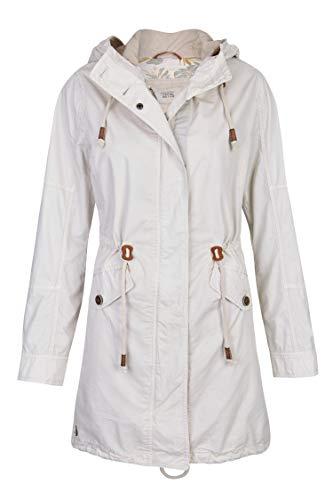 camel active Womenswear Damen Parka, Beige (Sand 04), 42