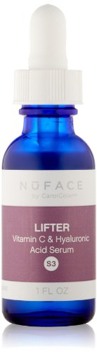NuFACE Lifter Vitamin C and Hyaluronic Acid Serum
