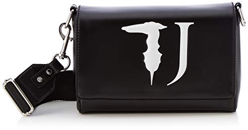 Trussardi Jeans T-Easy Cacciatora Monocolor, Borsa a Tracolla Donna,...
