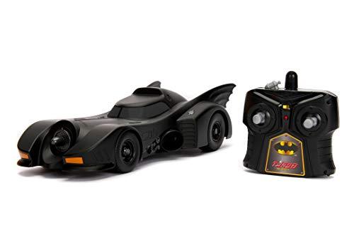 Jada Toys Batman RC 1989 Batmobile - Coche de Juguete (Escala 1:16), Multicolor