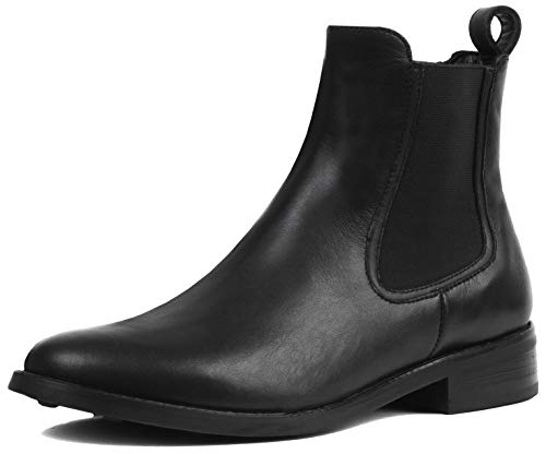 Thursday Boot Company Women's Duchess Chelsea Ankle Boots, Black, 8