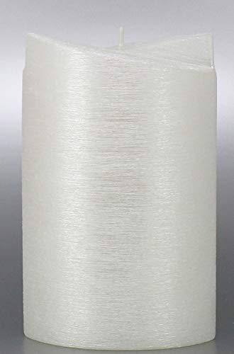 Kerze Oval, Perlmutt für Hochzeit 19x12 cm - 8703 - Kerzenrohling, 2 Flügel Ellipse 190x120 mm zum Basteln und Verzieren.