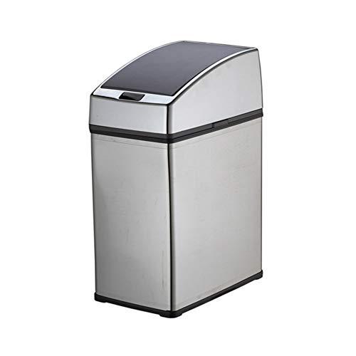 ChanYYw Automatischer Mülleimer mit Sensor, 3/4/6 l, für Induktion, für den Haushalt, Büro,...