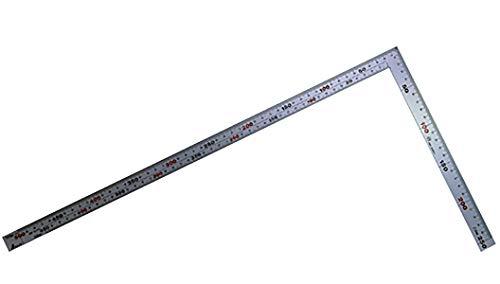 シンワ測定(Shinwa Sokutei) シルバー曲尺 厚手広巾 50cm 10405