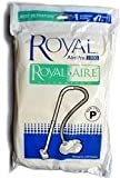 Royal Aire Type P Vacuum Bags (7 Bags + 1 Chamber Filter + 1 Exhaust Filter)