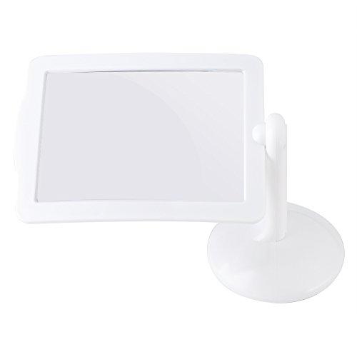 GLOGLOW Lupa 360 ° Manos Libres 3X Pantalla LED Espejo magnético Rectangular Amplia Amplia Lupa para Leer pequeñas Impresiones