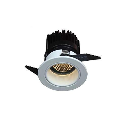 JSY 5 paketten - LED-spot plafondlamp Verborgen Opening 55 Bee Net COB Deep Cup Anti-glare Lamp Hotel Room Achtergrond Licht verduisteren Verzonken verlichting (Color : A, Size : Amber)