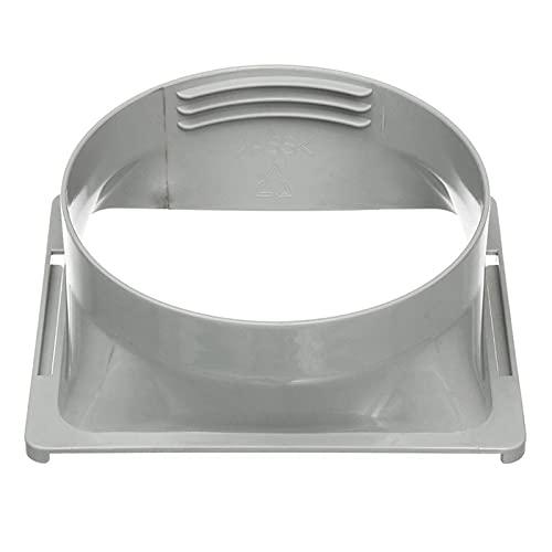 Popular Conector de tubo adaptador de ventanas / sello de ventana Placa de placa de ajuste para aire acondicionado portátil y bomba de calor Conjunto de línea Kit de cubierta ,C.A Ventilar escape ho d